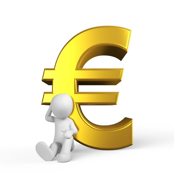 Euro, Geld, Erfolg, Metall, Hartgeld, Währung