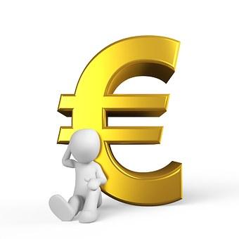 Euro, Pieniądze, Sukces, Metal, Specie