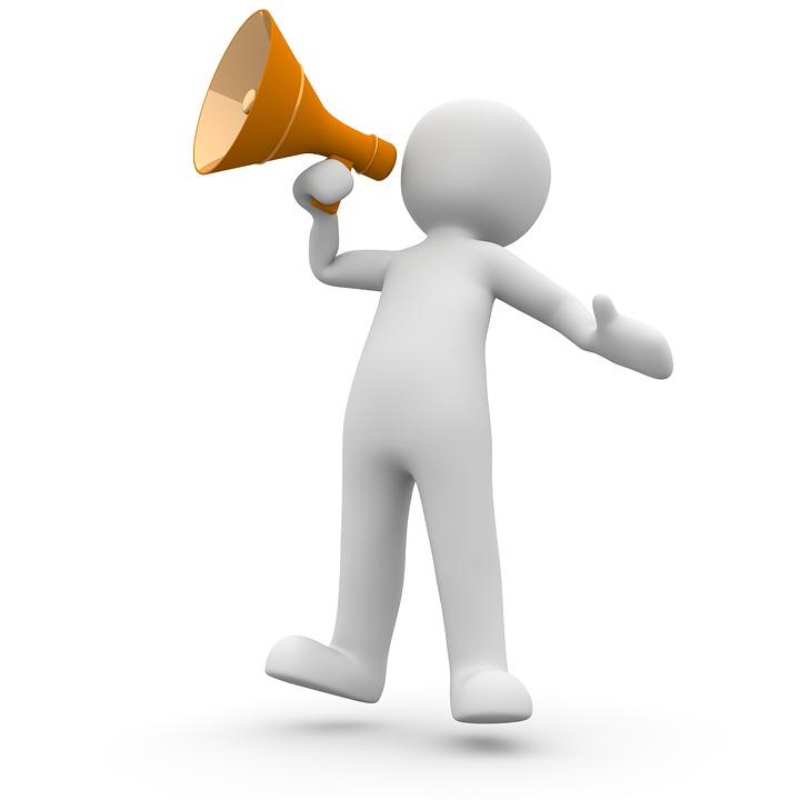 PorteVoix Annonce LInformation Image Gratuite Sur Pixabay - Porte voix