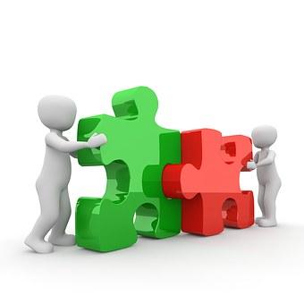 Rompecabezas, Cooperación, Asociación