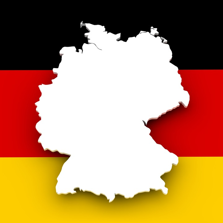Free Illustration Map Germany Flag Borders Free