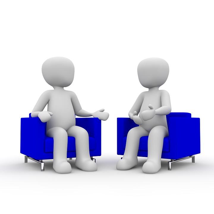 Besprechung, Meeting, Gespräch, Unterhaltung