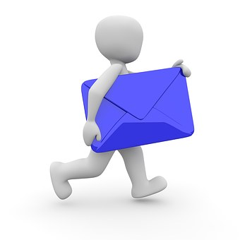 At Email Send E Mail Internet Communicatio