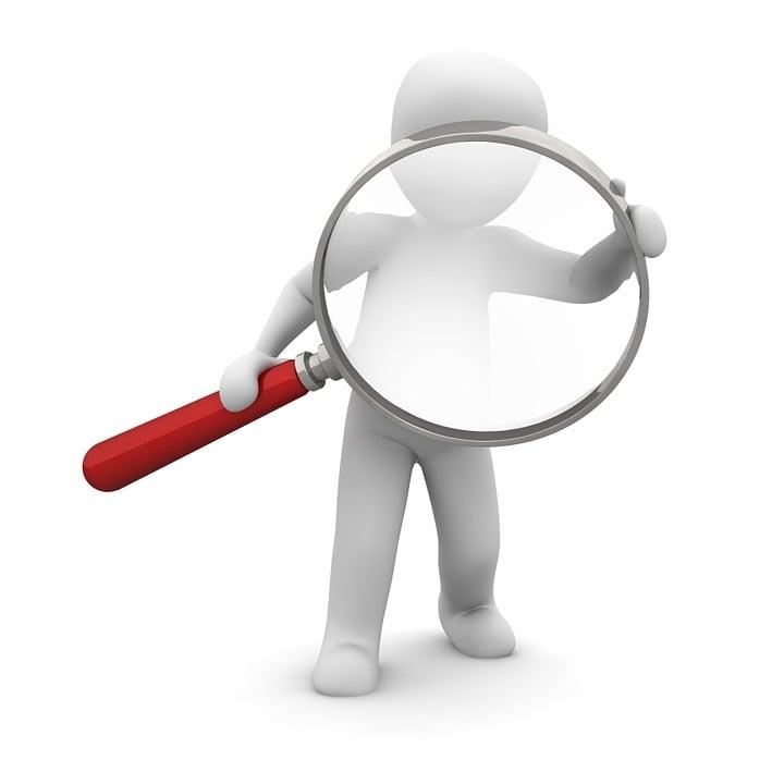 虫眼鏡, 検索, 見つけます, 見ます, 増加, 倍率, ガラス, データ検索, 調査, 探索, 探偵