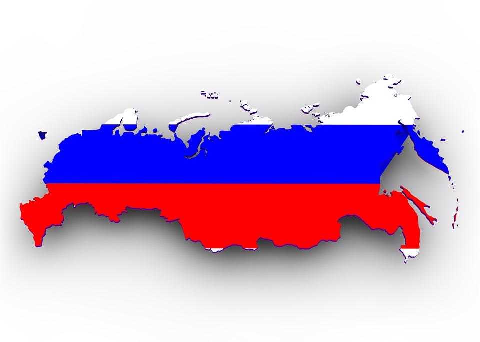 Karta Rusiya Flag Bezplatno Izobrazhenie V Pixabay
