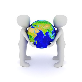Terre, Globe, Protection, Planet