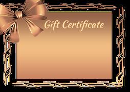 Buono regalo da compilare gratis