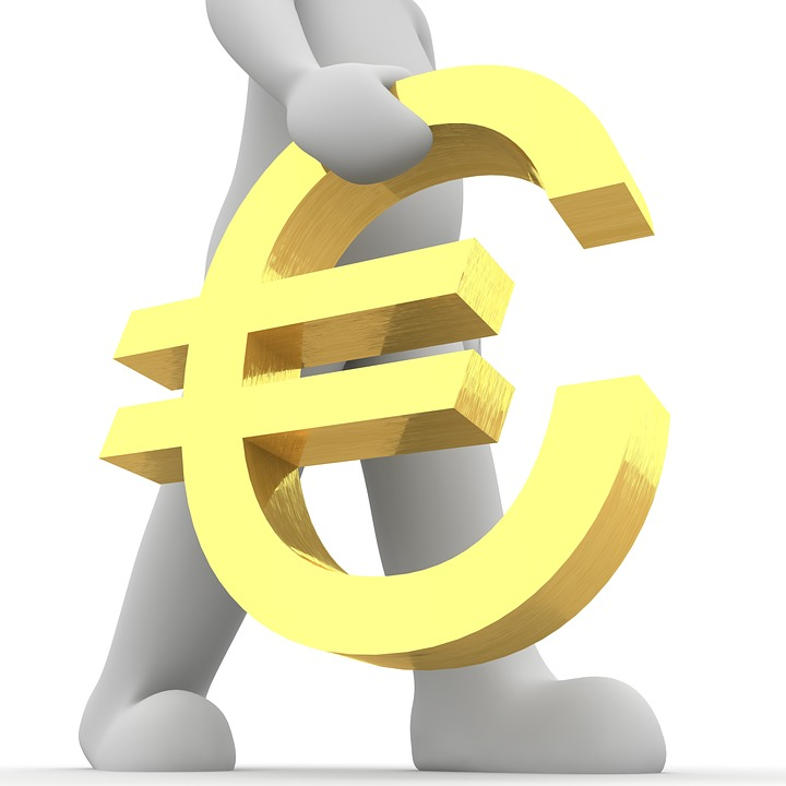 92eeeb7f9 Euro, Znaków, 3D, Symbol, Europa, Waluty, Znak Euro