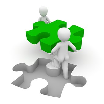 Puzzle, Cooperation, Together