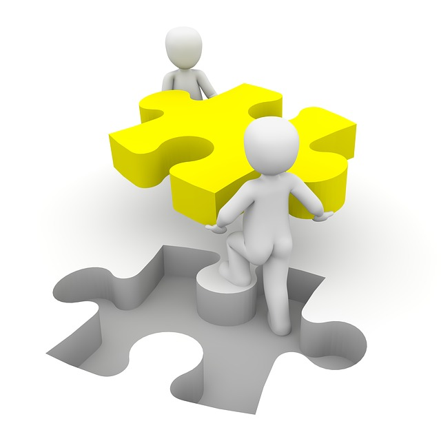 illustration gratuite  puzzle  coop u00e9ration  ensemble - image gratuite sur pixabay