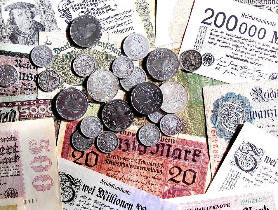 Money, Old, New, Seem, Coins, Bills, Bank Note