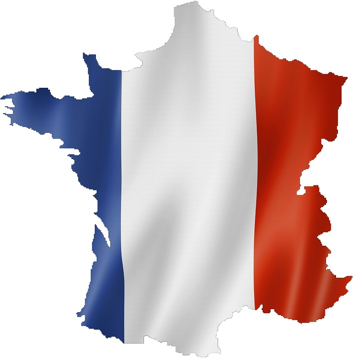 France, Flag, Map, French Flag, French, Country, Symbol