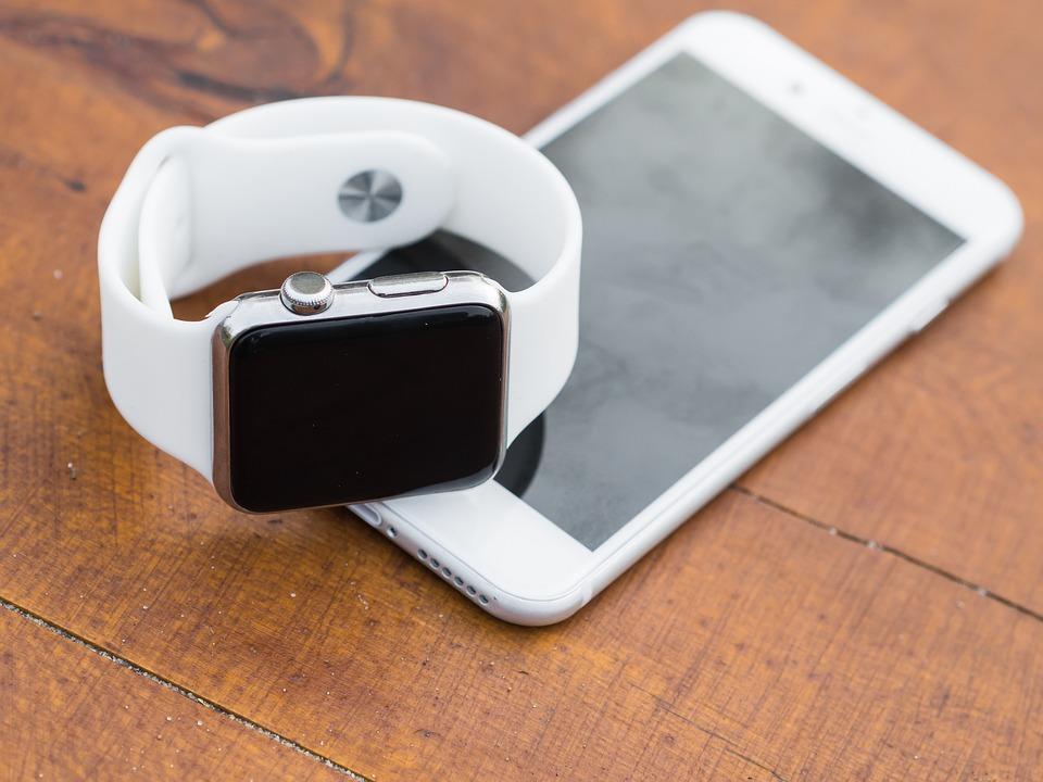 Iphone, Jag Tittar, Smartphone, Smart Klocka, Smart