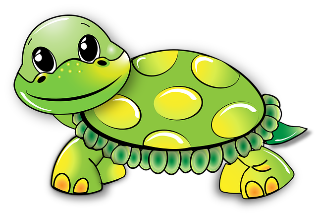 Turtle funny free vector graphic on pixabay - Clipart tortue ...