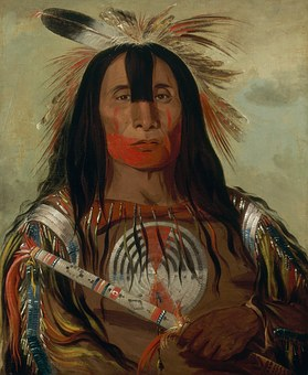 Painting, Art, Artwork, George Catlin