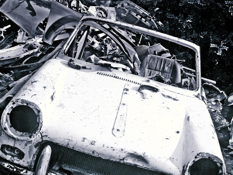 Free photo: Junkyard, Junk, Car, Trash, Wreck - Free Image on ...