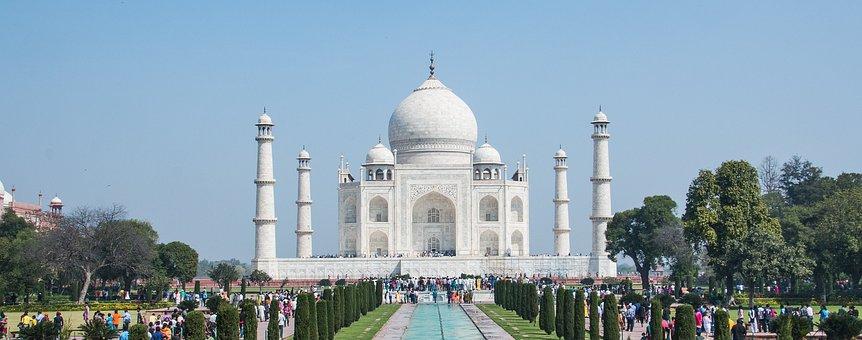 Taj Mahal, Agra, Ấn Độ, Đá Cẩm Thạch