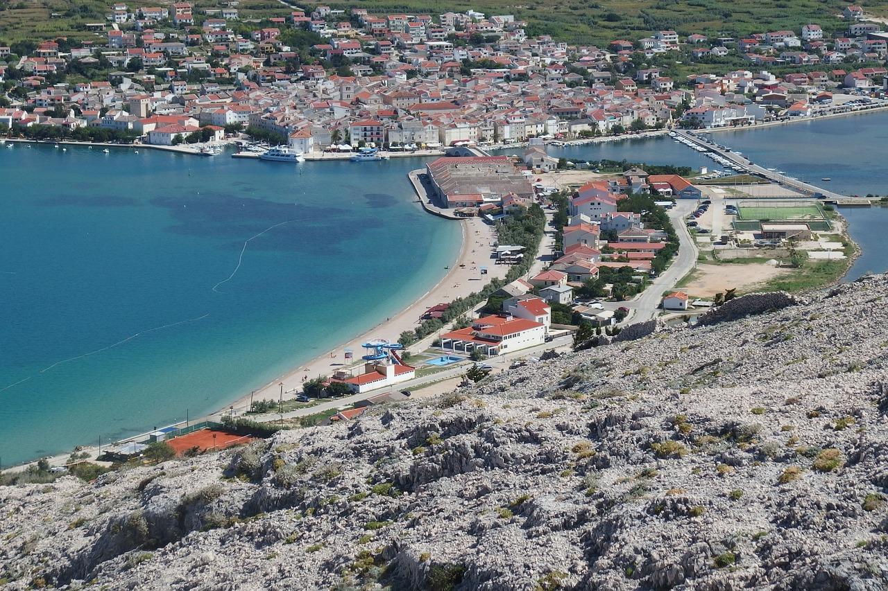 Pag Ville Île croatie destinatoin peu touristique en europe