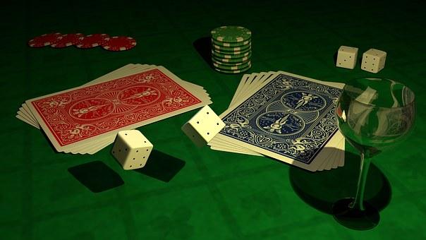 Poker, Cube, Gambling, Card Game