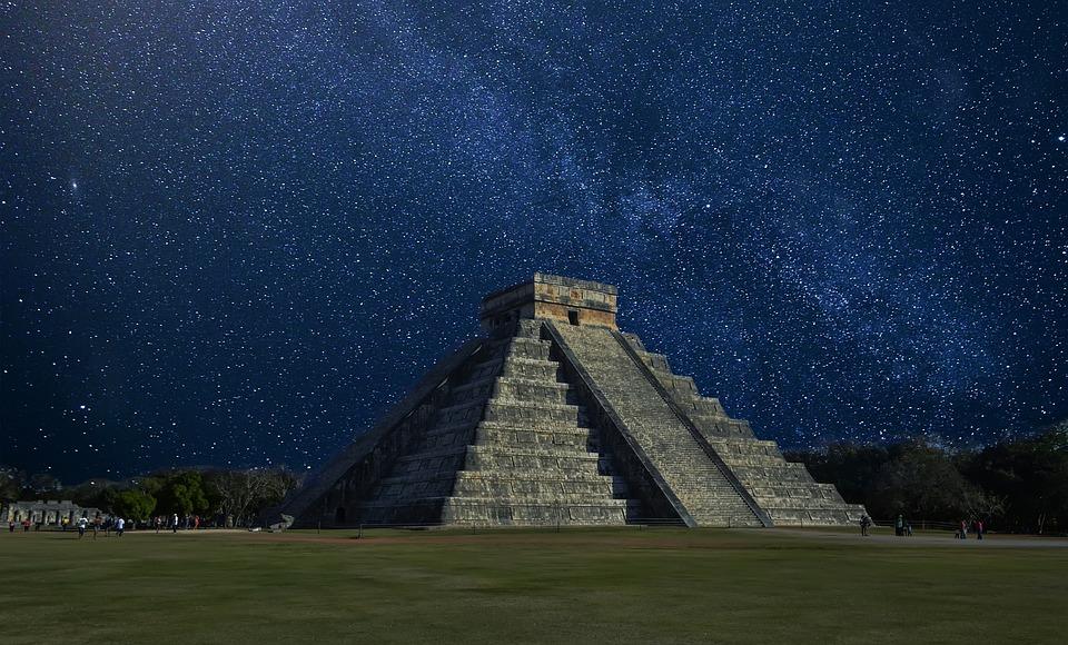 Chichen Itza, Meksyk, Piramida, Piramida W Meksyku