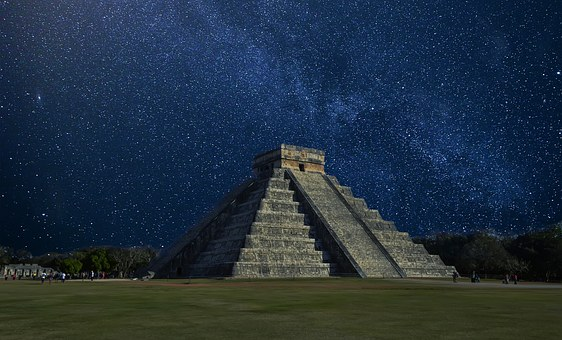 Chichen Itza Mexico Pyramid Pyramid In Mex