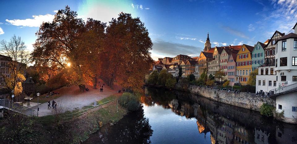 Tübingen in Baden-Würtemberg