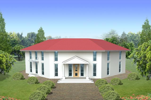 Single u003cbu003eFamilyu003c/bu003e Home Villa Rendering - Free photo on Pixabay