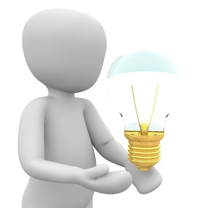 Idee, Antwort, Erleuchtung, Klugheit, Denken