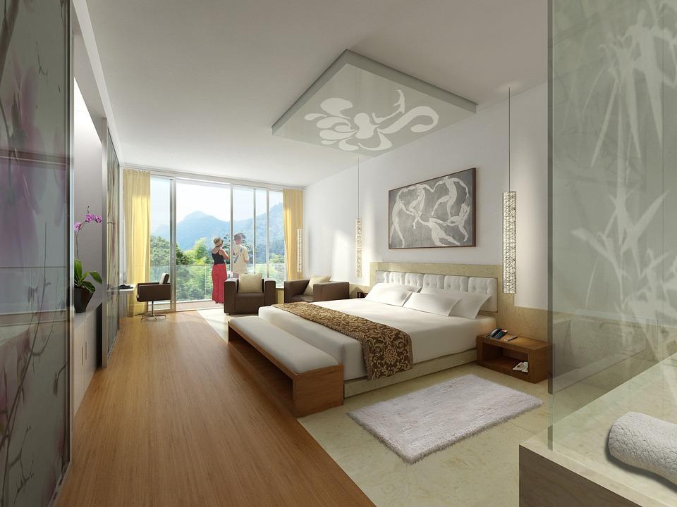 interieur hotel weergave visualisatie architectuur