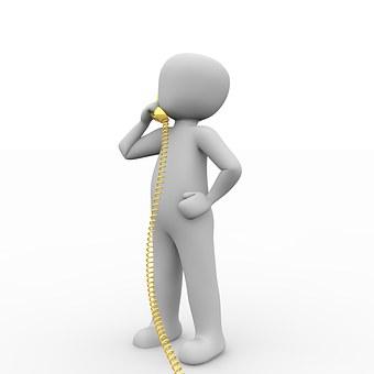 コールセンター, 携帯電話, サービス, ヘルプ, 呼び出し, 企業, 予約