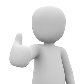 Thumbs Up Gut Thumb High Finger Posit