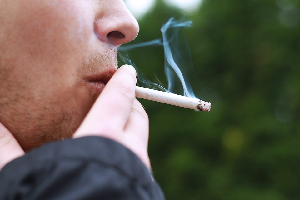 Picture Of Person Smoking