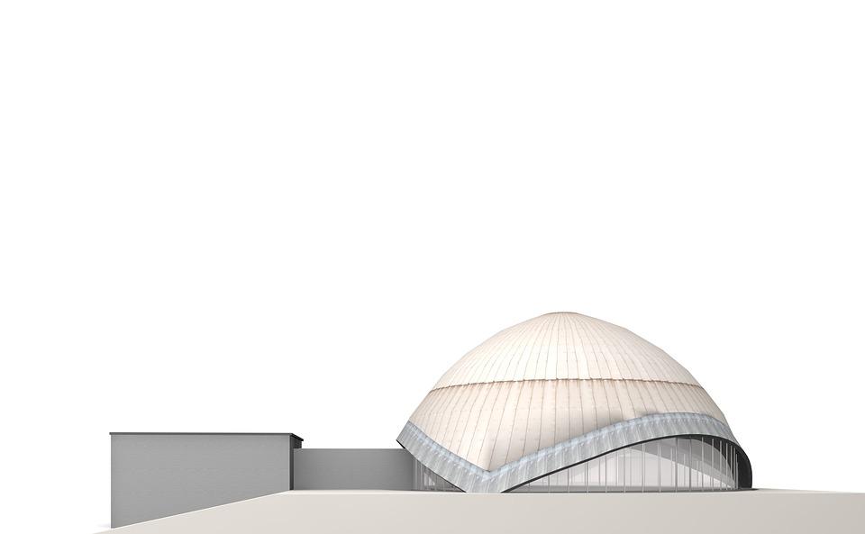 プラネタリウム ボーフム 建物 , Pixabayの無料画像