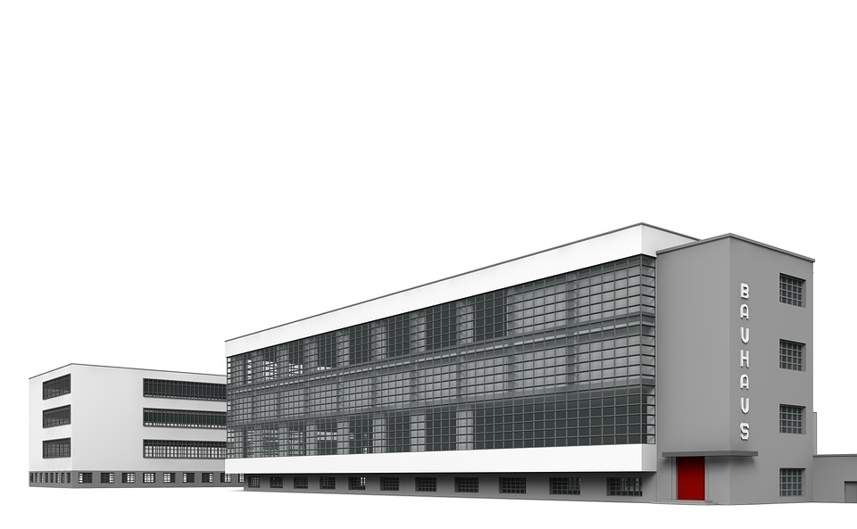 archtectural building comparing it to bauhause Inside the walter gropius–designed bauhaus building pin this image facebook share this image german architect walter gropius founded the bauhaus school in 1919.