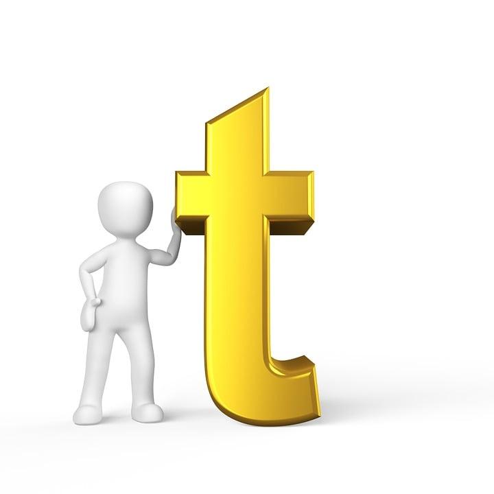 T Letter Alphabet Alphabetically Abc