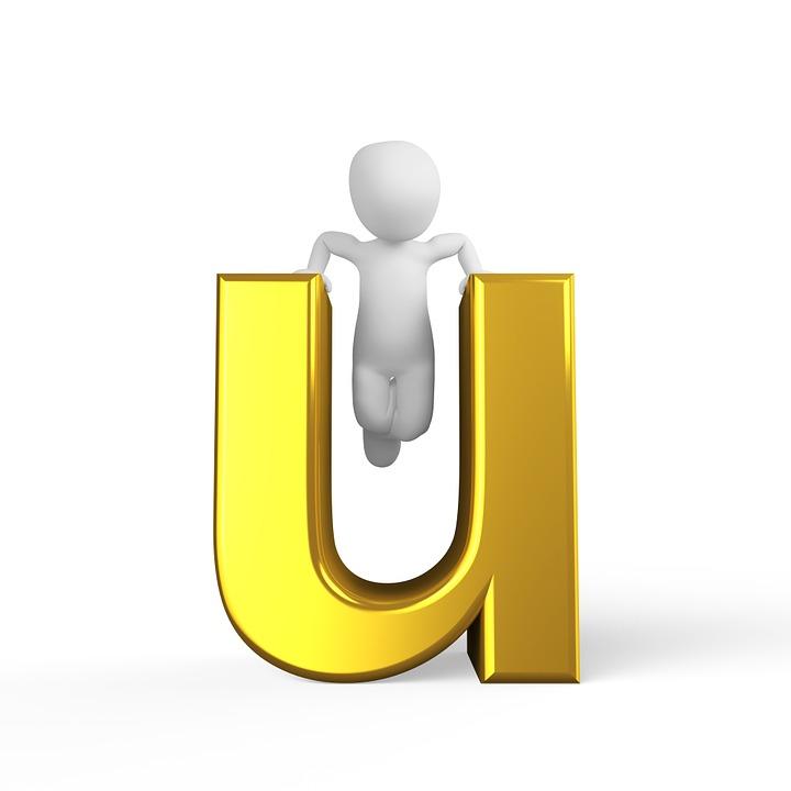 U carta orden alfab tico por imagen gratis en pixabay for C m r bagnolet