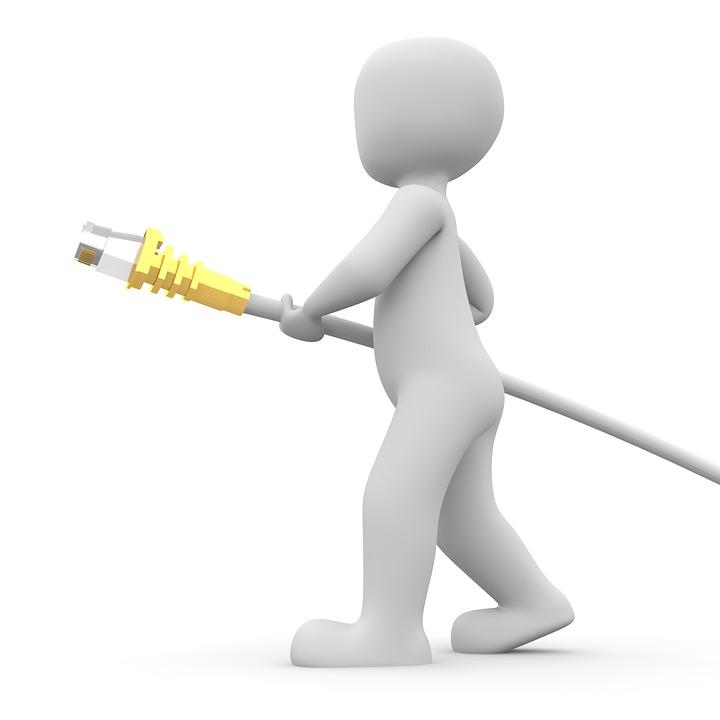 Free Illustration Network Cable Ethernet Plug Free