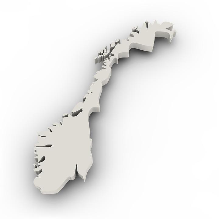 Kartta Norja Rajojen Ilmainen Kuva Pixabayssa
