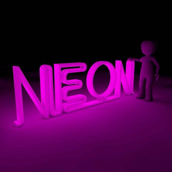 neon color shining free image on pixabay