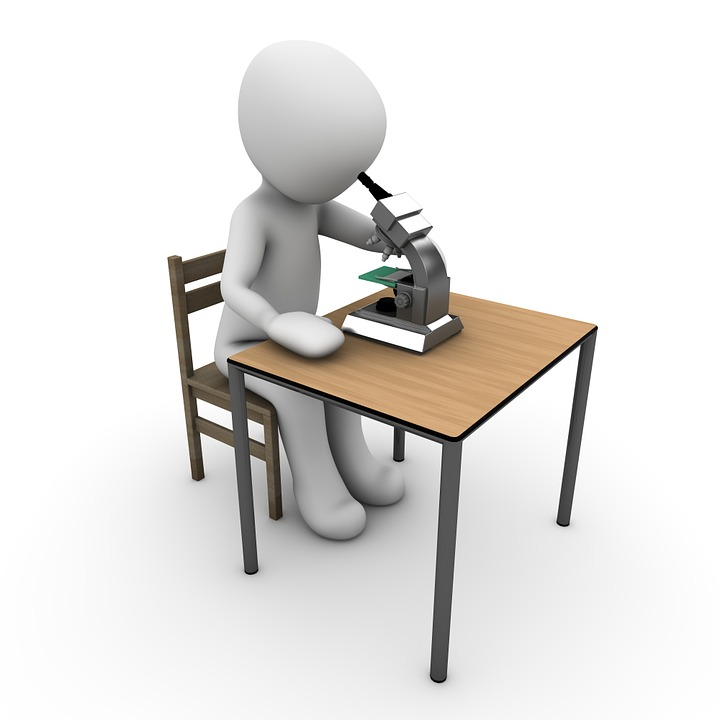 Free Illustration Microscope Research Examine Free