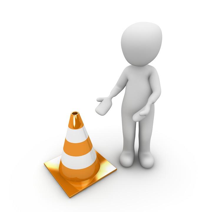 Free Illustration Traffic Cone Attention Caution Free