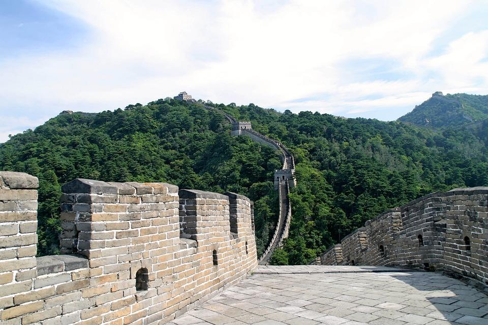 Free Photo Chinese Wall Large Great Wall Free Image