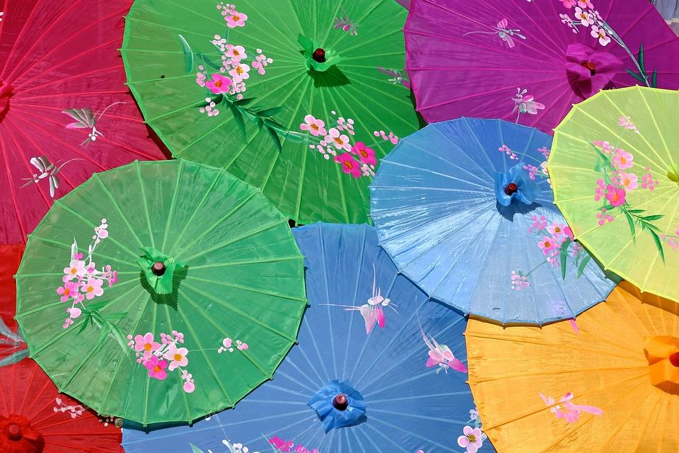 Asiatischer Sonnenschirm sonnenschirm china asiatischer kostenloses foto auf pixabay