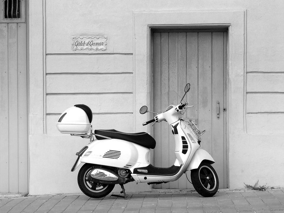 Vespa scooter italian · free photo on pixabay