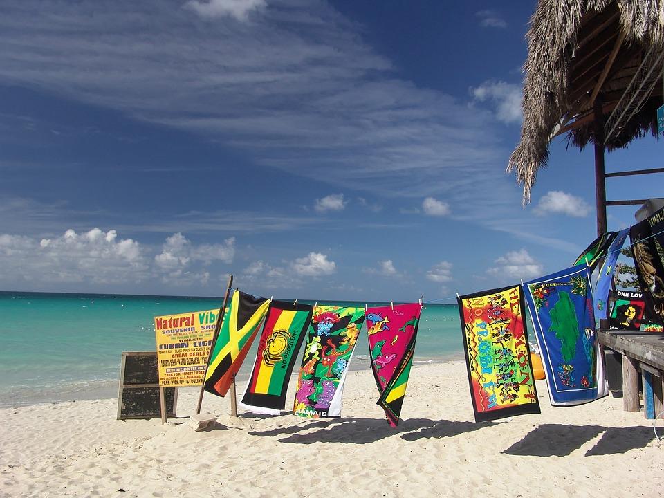 Pantai, Hari Libur, Bar, Handuk, Jamaika, Pemulihan