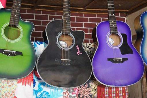 Gitarre, Musik, Band, Musikladen