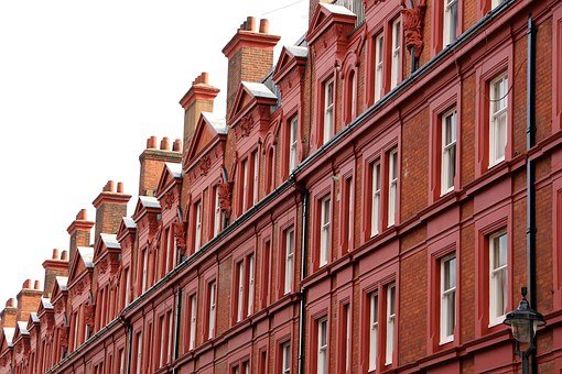 London, Facade, Chimney, United Kingdom