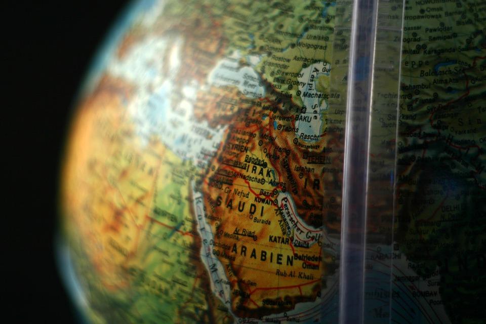 Globe, Middle East, Moyen Orient, Arabie Saoudite