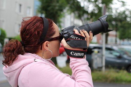 Photographer, Photograph, Lens, Camera