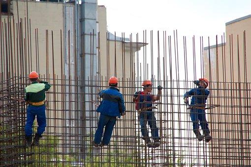 Steelworkers, Concreto, Cofragem